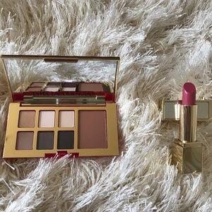 Authentic New Estée Lauder Palette and Lipstick